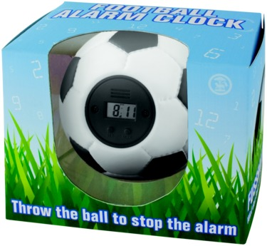 Footbal alarm clock